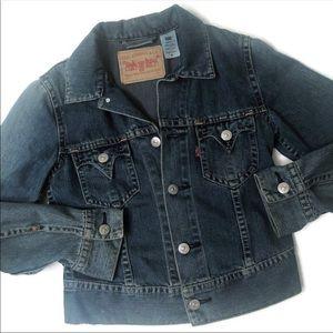 Vintage 90s Levi's Type 1 Iconic Denim Jacket-M